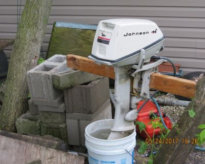 1969 Johnson 6 hp outboard