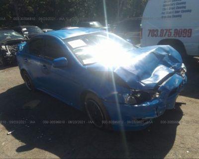 Salvage Blue 2010 Mitsubishi Lancer