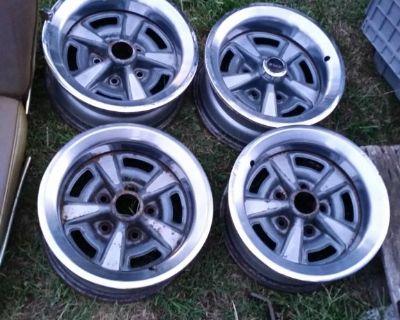 14 X 6 Pontiac Rally II WHEELS RIMS Km Code Firebird Grand Prix 455 400