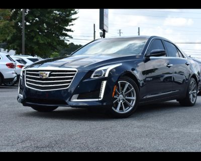 2017 Cadillac CTS Luxury 4D Sedan RWD 2.0t