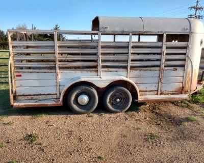 16 foot stock trailer