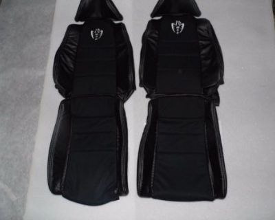 1991-1994 Toyota Mr2 Genuine Leather With Nova-suede/alcantra Inserts-mr2 Logo
