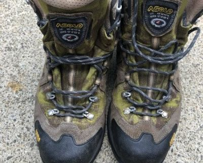 FS Asolo hiking boots. Men s size 10