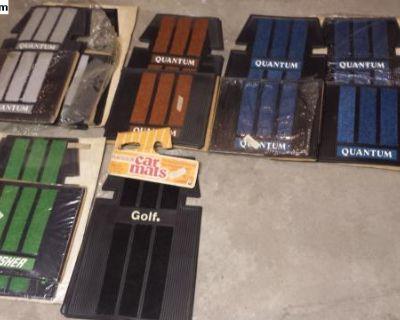 NOS Quantum Golf Dasher Accessory Floor Mats