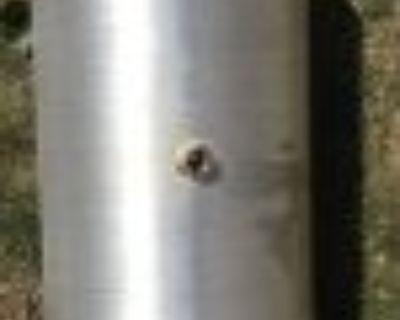Bam spun aluminum tank 5.2 gallons
