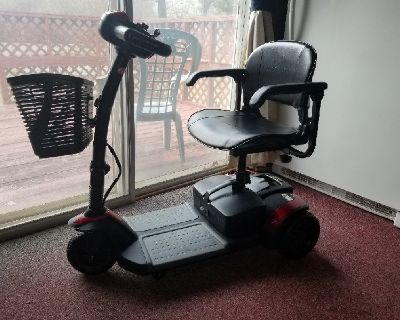 Spitfire Pro 3 Wheel Travel Scooter