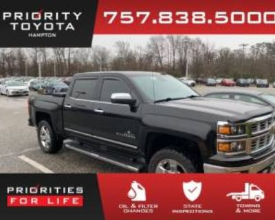 2015 Chevrolet Silverado 1500 LTZ with 2LZ Crew Cab Short Box 4WD