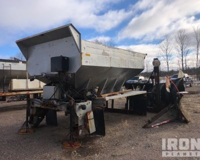 Lot of (1) Snow Plow, (1) Snow Wing & (1) Spreader Box