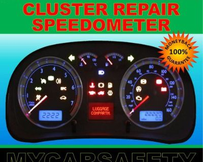 Fits 93 - 98 Vw Cabrio Instrument Cluster Gauge Speedometer Repair Rebuild
