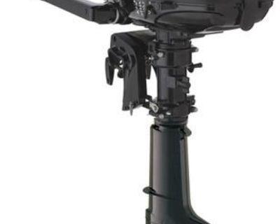 "New Mercury 5 Hp 4 Stroke Outboard Motor Tiller 15"" Shaft Boat Engine"