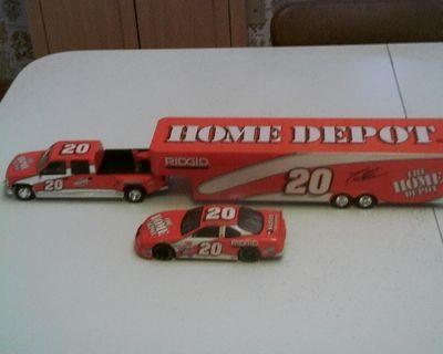 1999 GMC Truck & Show Trailer #20 Home Depot, Tony Stewart.