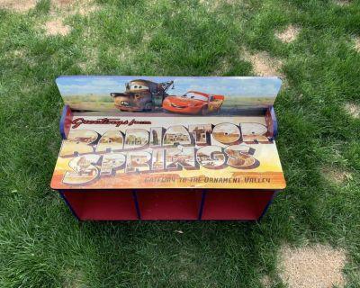 Cars Theme Storage Cupboard