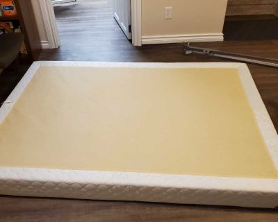 Free double size box spring and bed frame