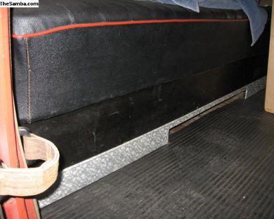 SNOWFLAKE, rear seat kick panel MATERIAL