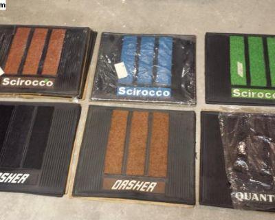 NOS Quantum Dasher Scirocco Accessory Floor Mats