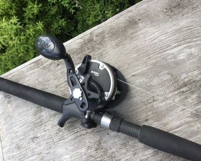 Halibut rod and reel