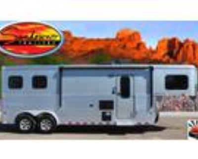2018 Sundowner Santa Fe 8009 2-Horse Trailer / Living Quarter 2 horses