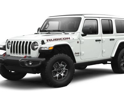 New 2021 JEEP Wrangler Unlimited Rubicon With Navigation