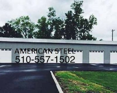 METAL STEEL SHOPS, GARAGES, RV BOAT COVERS, AG STRUCTURES