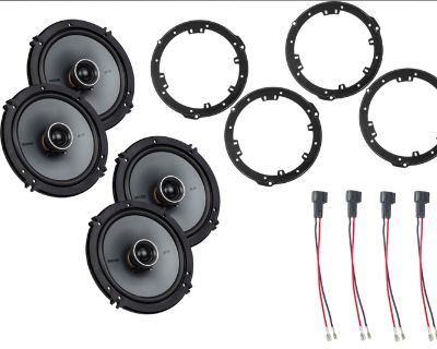 2019-2021 Ford Ranger Kicker KS Series Drop-In Plug-and-Play Door Speaker Package