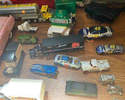 Vintage cars toys