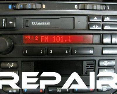 Bmw Alpine C33 Din Radio Stereo Cassette Tape E36 318 328 M3 Z3 - Repair Service