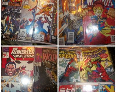 Classic Mint Condition Comic Books