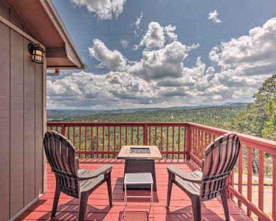 New! Mountains Majesty Cabin w/ Mtn View Deck - Ruidoso