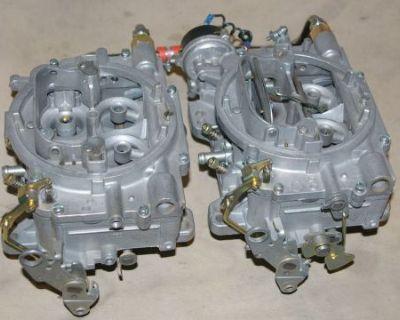Rare 2x4 400 Cfm Carter Afb Carburetors Lowrise Dual Quads 9400 340 350 350 9500