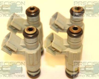 Set Of 4 Asnu Rebuilt Genuine Oem Bosch 0280155976 04891345aa Fuel Injectors