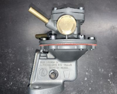Restored Mexican Pierburg VW fuel pump