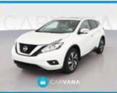 2017 Nissan Murano White, 34K miles