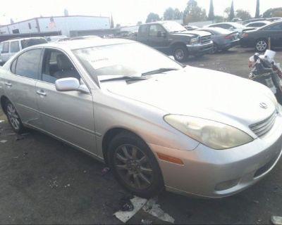 Salvage Silver 2004 Lexus Es 330