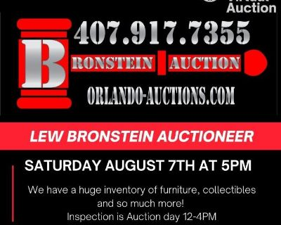 Super Saturday Night Auction August 7th 5PM