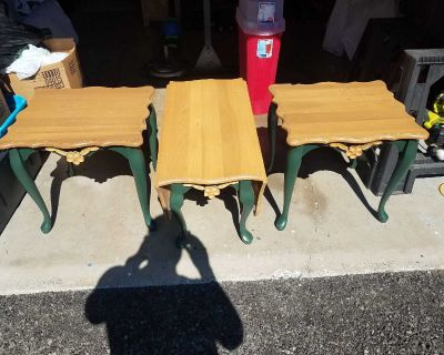 Matching drop leaf coffee & end tables