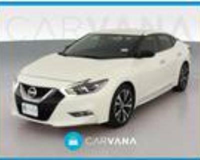 2017 Nissan Maxima White, 78K miles