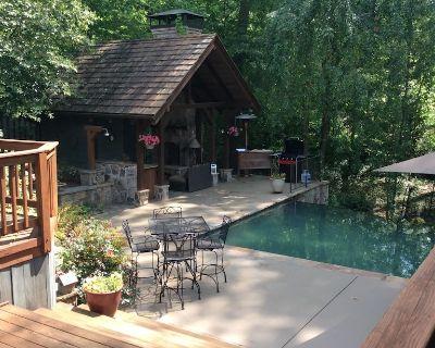 Executive Buckhead/infinity pool/ hot tub, max 8 adults. - North Buckhead