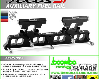 Focus ST Auxiliary Fuel System - Boomba Racing
