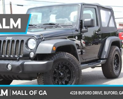 Pre-Owned 2017 Jeep Wrangler Sport 4WD