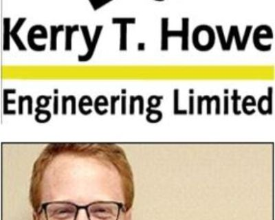 Kerry T. Howe Engineering Limited would like to congratulate Michael Jamieson on obtaining his Professional Engineers designation.