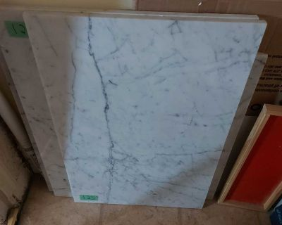 Slabs of White Marble