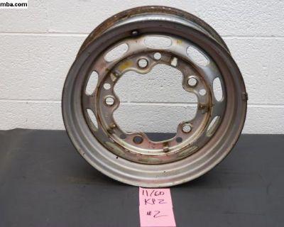 11/60 KPZ Painted Porsche 356 Steel Wheel Drum #3
