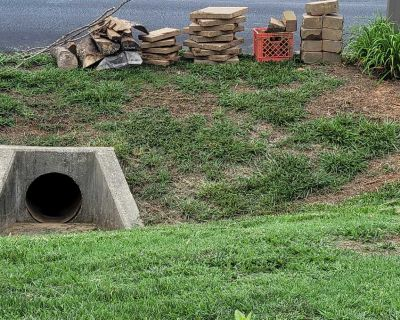 Pavers and edger stones