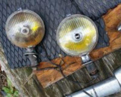 Lucas Valance Fitting SFT 576 Pair Spot Fog Lights Rolls Royce Bentley