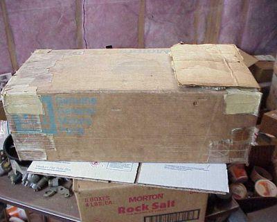 1967 Corvette Tri-power 3x2 Intake Manifold Gm Box 36 Years Old Oem Box