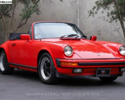 1984 Porsche Carrera Cabriolet