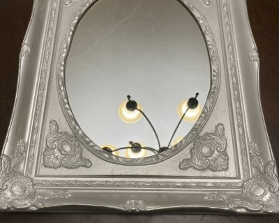 Painted Old Mirror