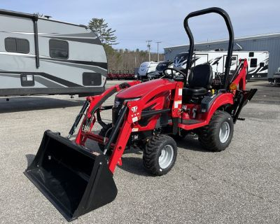 2020 T224 TYM Hydrostatic Tractor w/Loader/Industrial Tires/Backhoe