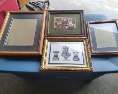 Mixed Lot Pre-owned Picture Frames