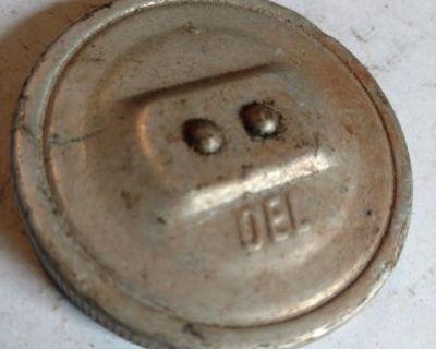 Aluminum oil filter cap